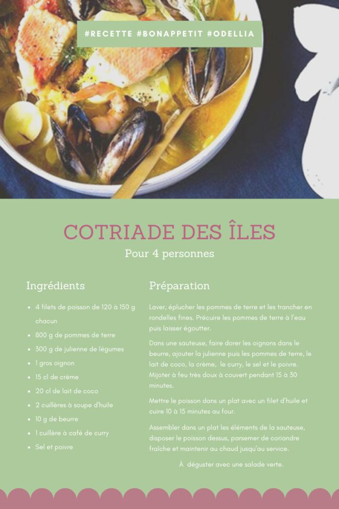 Coriade des îles recette bretonne à déguster en famille